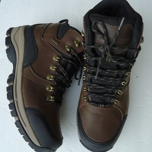SIZE12.Eddie Bauer waterproof leather hiking boots